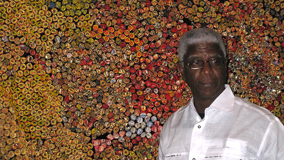 Fairview Art Room El Anatsui